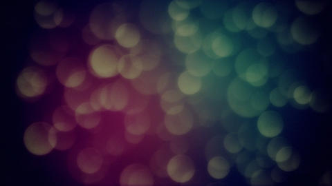 Bokeh Particle 1 Animation