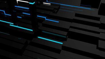 4k Data Processing,tech Fiber Optic Beam Transport stock footage