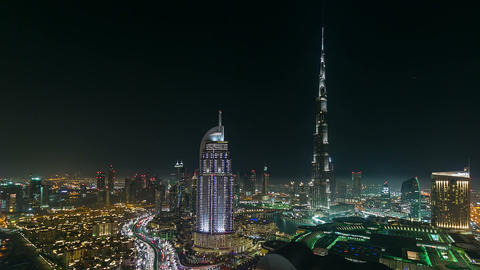 Burj Khalifa Stock Video Footage
