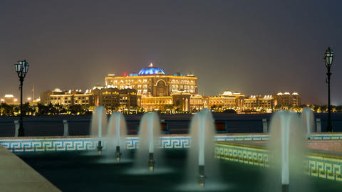 Emirates Palace Stock Video Footage