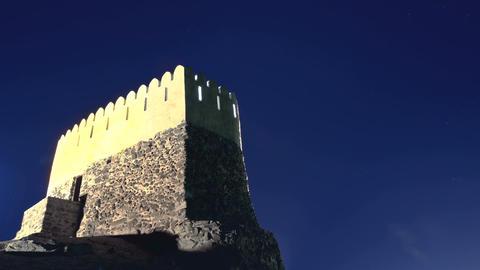 Bidyah Mosque Fort Stock Video Footage