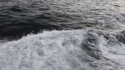 Boat Wake stock footage