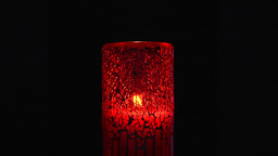 Red Candle stock footage
