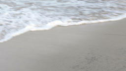 Shoreline Ocean Surf stock footage