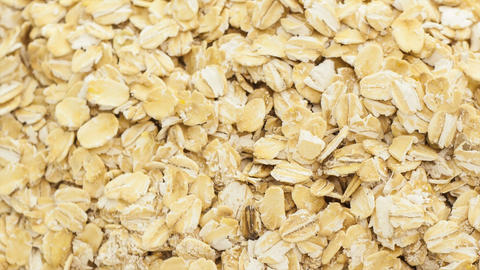 Raw oat Stock Video Footage