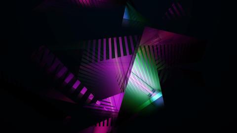 Pulsing Strip Lights With Triangular FX 120bpm Live Action