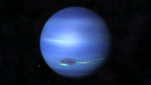 Animation of the Planet Neptune Animation