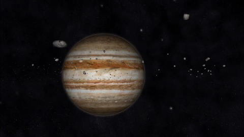 Animation of the Solar System Animation