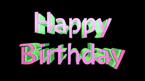Happy Birthday Logo Animation