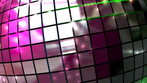 disco ball closeup front animation Animation