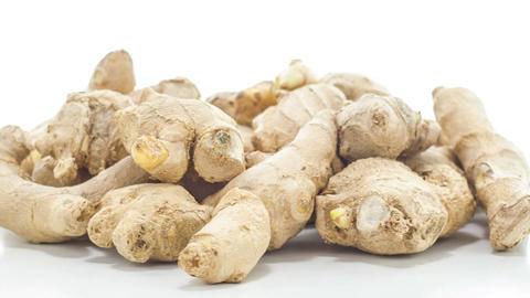Raw ginger Footage
