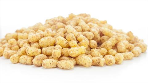 Peanut puffs Stock Video Footage