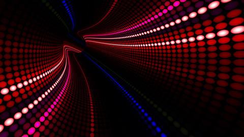 Tunnel Neon Tube DL 3b 4k CG動画