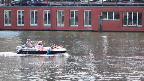 motor boat Footage