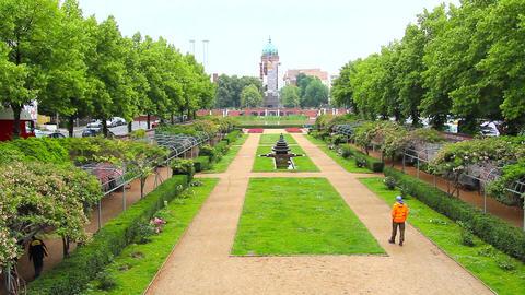 park in Berlin Footage