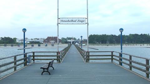 footbridge Stock Video Footage