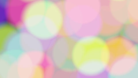 colorful bubble CG動画