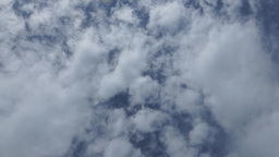 Cloudy Sky Rotates stock footage