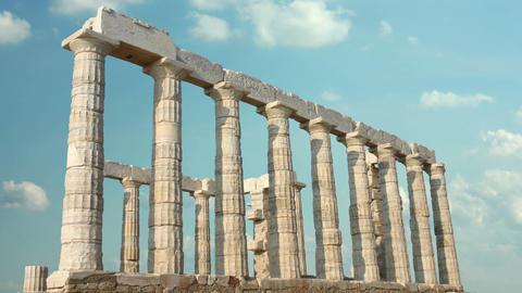Greek Columns Footage