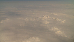 HD2008-8-9-24 737 aerial earth clouds Stock Video Footage