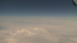HD2008-8-9-26 737 aerial earth clouds Stock Video Footage
