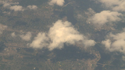 HD2008-8-9-28 737 aerial earth clouds Footage
