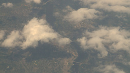 HD2008-8-9-28 737 aerial earth clouds Stock Video Footage