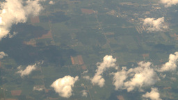 HD2008 8 9 30 737 aerial clouds earth Stock Video Footage