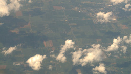 HD2008 8 9 30 737 aerial clouds earth Footage