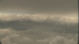 HD2008-8-9-32 737 aerial clouds storm Stock Video Footage