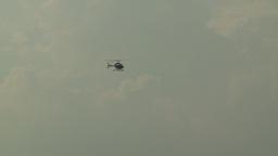 HD2008-8-10-7 jet ranger heli Stock Video Footage