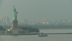 HD2008-8-10-11 statue liberty Stock Video Footage