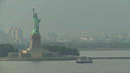 HD2008-8-10-11 statue liberty Footage