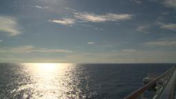 HD2008-8-10-31 cruise ship open ocean Stock Video Footage