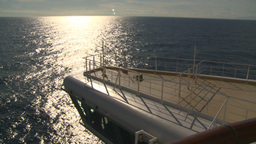 HD2008-8-10-33 cruise ship open ocean Stock Video Footage