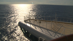 HD2008-8-10-33 cruise ship open ocean Stock Video Footage