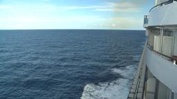 HD2008-8-10-35 cruise ship open ocean Stock Video Footage