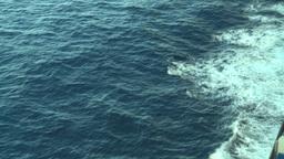 HD2008-8-10-37 ships wake Stock Video Footage