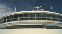 HD2008-8-10-53 cruise ship Stock Video Footage