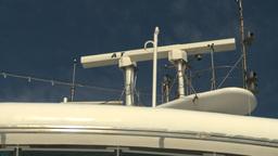 HD2008-8-10-55 cruise ship radar Stock Video Footage