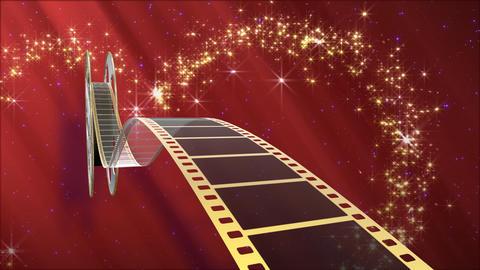 Film Strip A04d Stock Video Footage