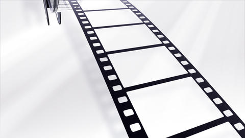Film Strip A05b Stock Video Footage
