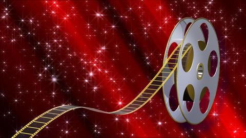Film Strip A03a Stock Video Footage