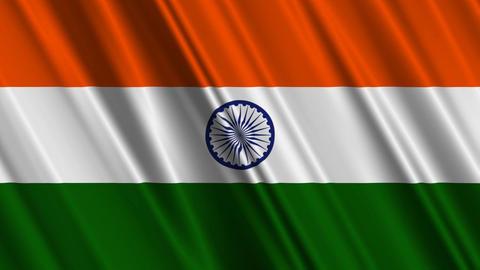 IndiaFlagLoop01 Animation