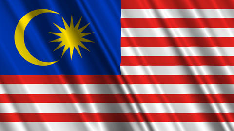 MalaysiaFlagLoop01 Animation