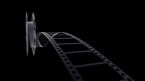Film Strip A04m HD Animation