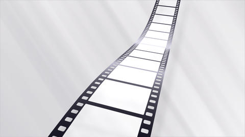 Film Strip A07b Stock Video Footage