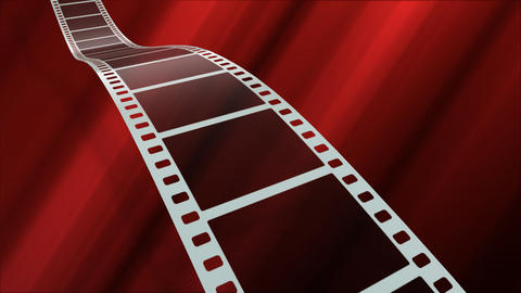 Film Strip A08a Stock Video Footage
