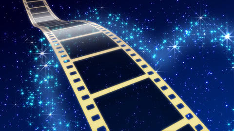 Film Strip A08c Stock Video Footage