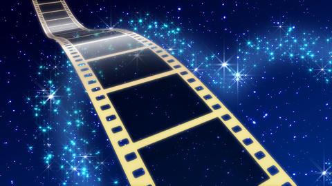 Film Strip A08c Stock Video Footage